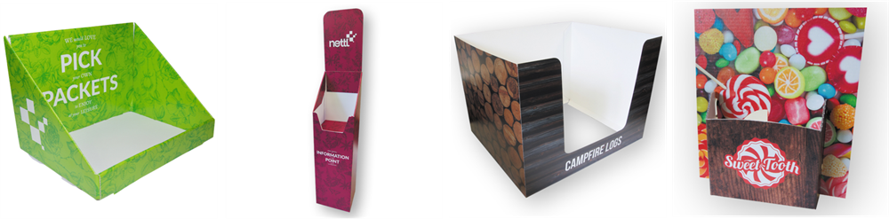Product and Leaflet Holders